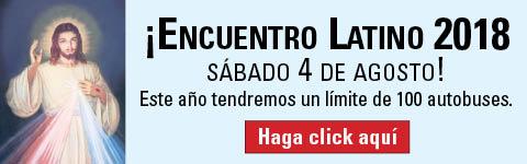Encuentro Latino 2018  Sabado 4 de Augosto!  Este ano tendremos un limite 100 autobuses.  Haga click aqui
