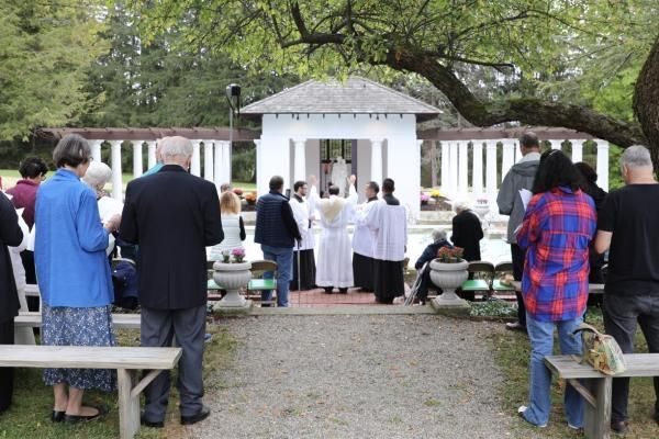 Rededication of the Holy Family Shrine