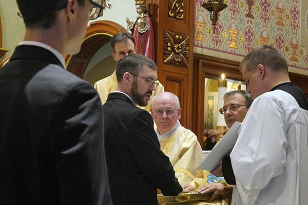 Five Profess First Vows