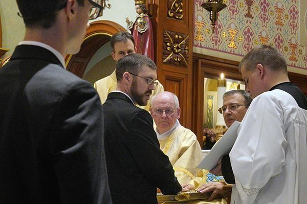 Five Profess First Vows