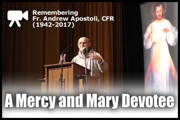 Remembering a Mercy and Mary Devotee