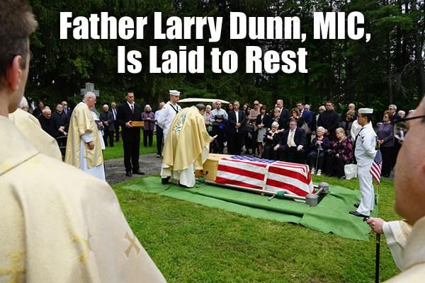 Rest in Peace, Fr. Larry!