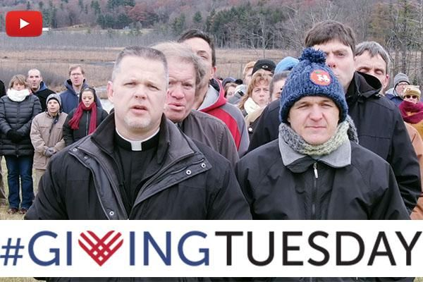 Giving Tuesday 2018: We Stand with Christ