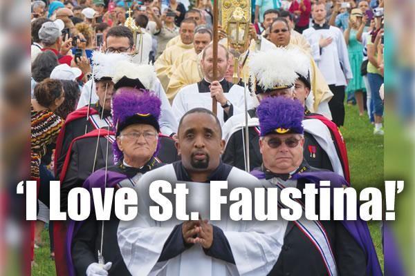 'I Love St. Faustina!'