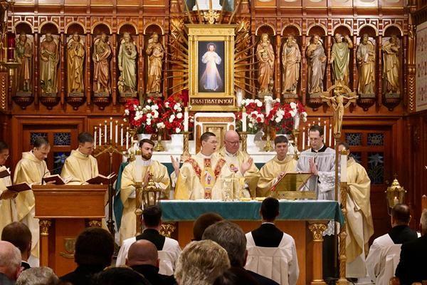 Congratulations, Fr. Tyler, MIC!