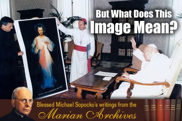 The 'Picture' of the Merciful Christ