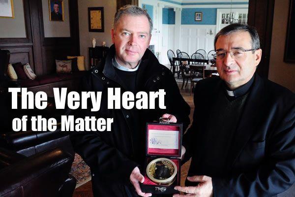 Saint John Vianney's Heart Comes to Stockbridge