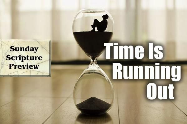 'Time Is Running Out'