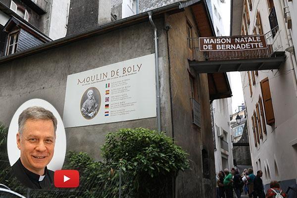 Where It All Began for St. Bernadette