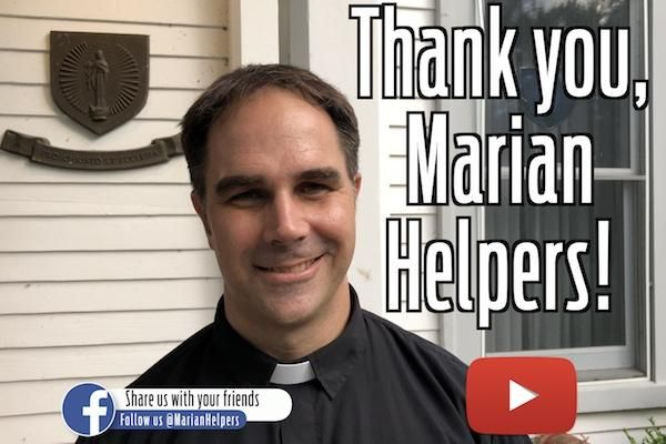 Thank You, Marian Helpers