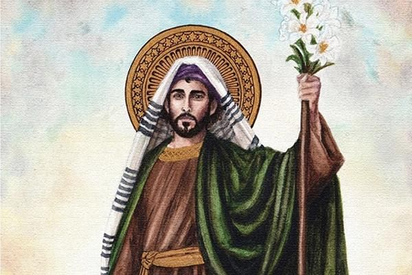 Saint Joseph: a Brush with the Real Man