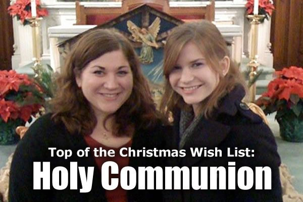 top of the christmas wish list holy communion