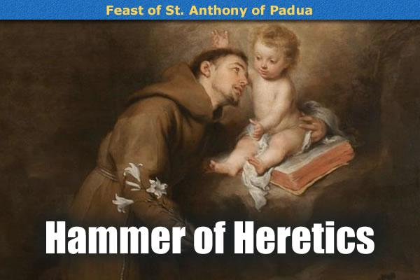 saint anthony of padua theology Saint anthony is a beloved saint he devoted his life to the poor and less  fortunate, even though he came from a wealthy family saint anthony.