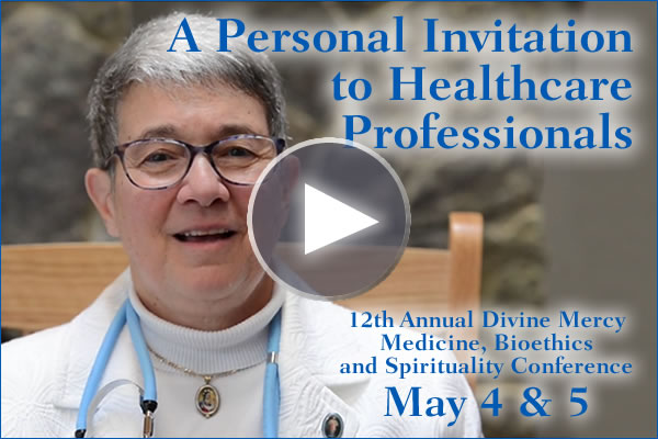 12th Annual Healthcare Professionals for Divine Mercy Conference Medicine, Bioethics, & Spirituality  College of the Holy Cross Worcester, Mass. May 4 & 5, 2016  Register online now or call 1-800-462-7426  This activity has been approved for AMA PRA Category 1 Credit(s)TM.  15.5 CMEs and 18.6 CEUs  Special Guest: Fr. Patrice Chocholcki, Rector of the Shrine of the Curé of Ars, France