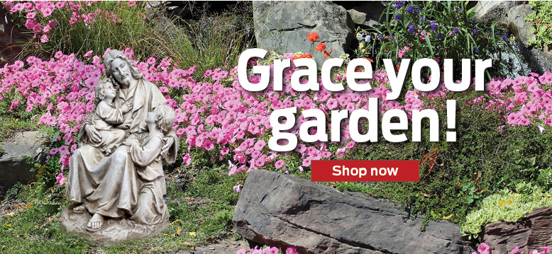 Grace your garden!  Shop now