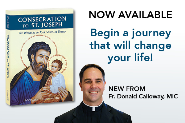 Now Available  Begin a journey that will change your life!  NEW FROM Fr. Donald Calloway, MIC