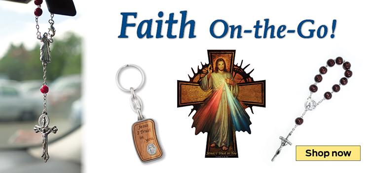 Faith On-the-Go!  Shop now