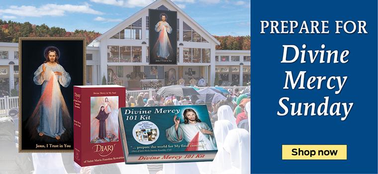 Prepare for Divine Mercy Sunday  Shop now