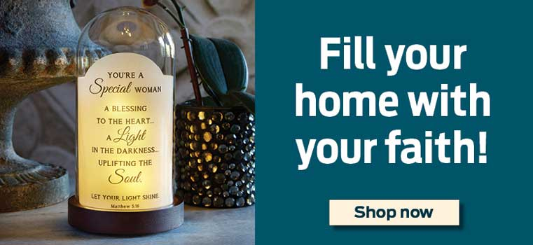 Fill your home with your faith!  Shop now