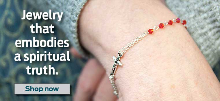 Jewelry that embodies a spiritual truth.  Shop Now